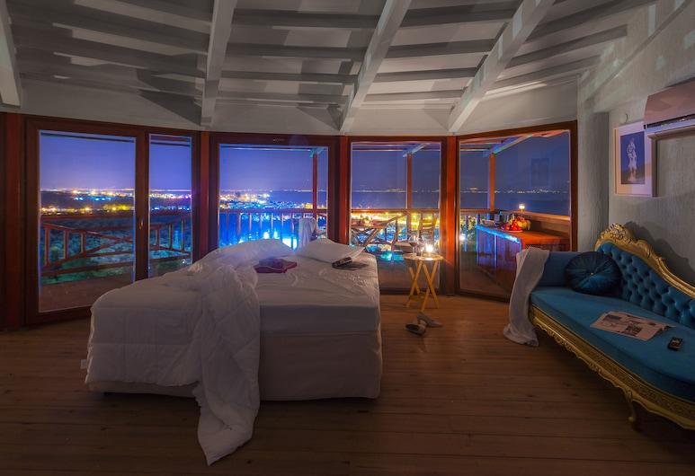 Aeneas Hotel, Edremit, Suite, 1 cama King size, vista al mar, Habitación