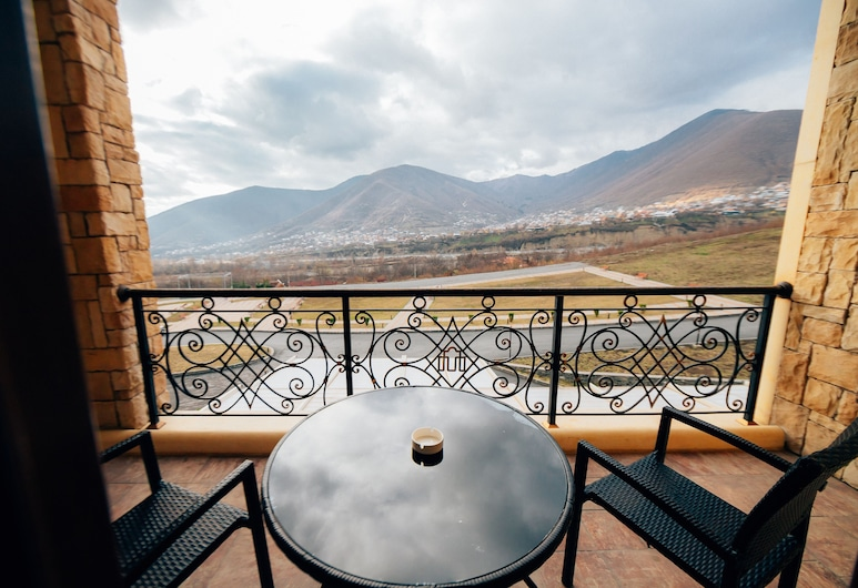 Marxal Resort & SPA, Sheki, Comfort-svíta - 1 svefnherbergi, Svalir