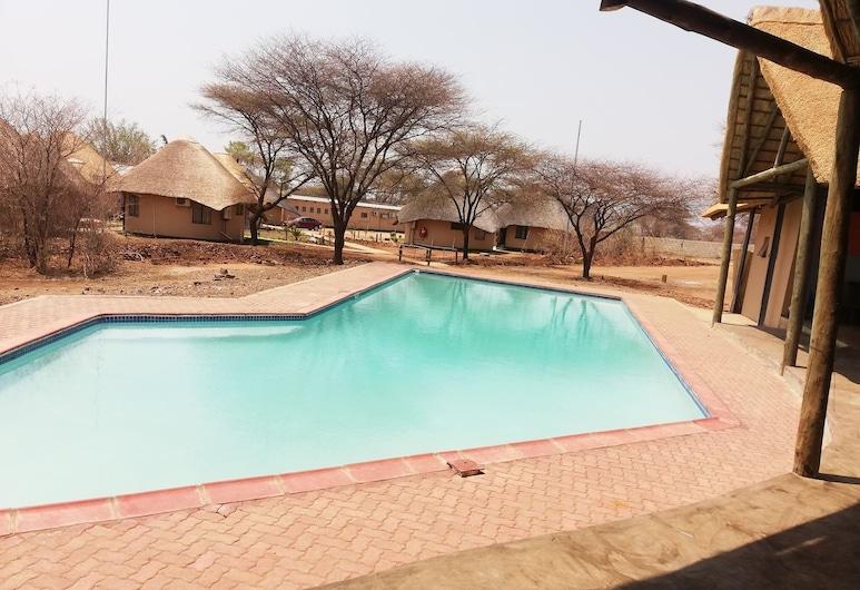 Nkanga Hotel, Kasane, Piscine en plein air