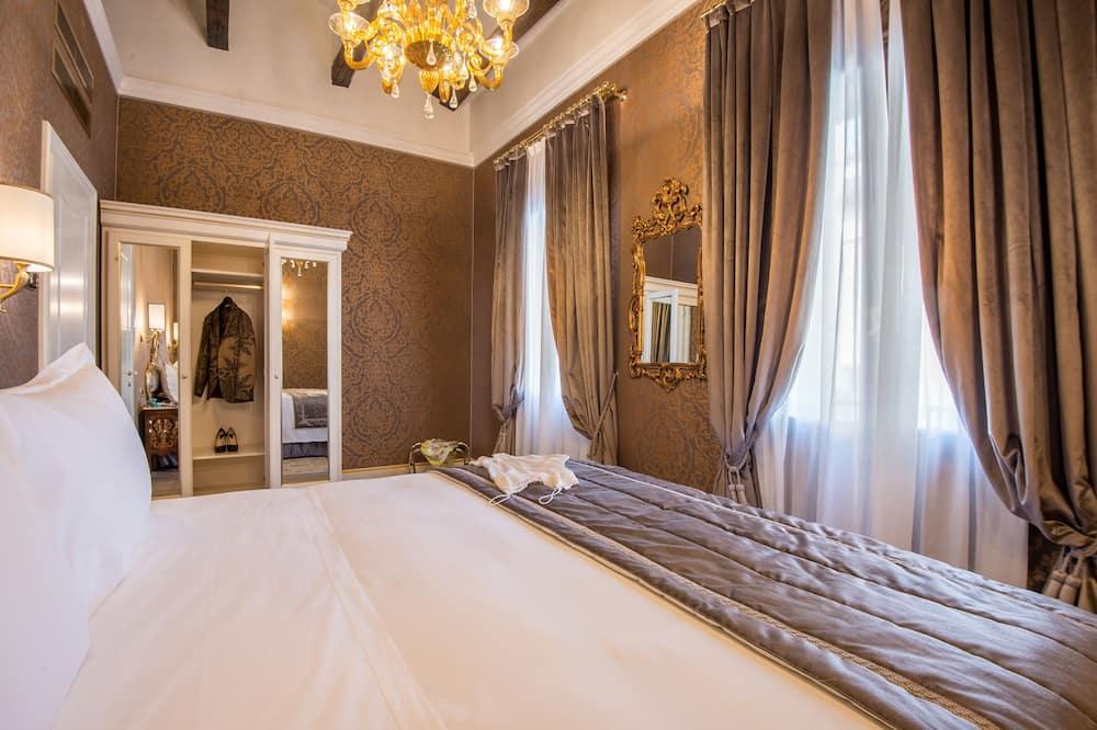 Appartement Confort, 1 chambre, coin cuisine, vue ville - Vue de la chambre