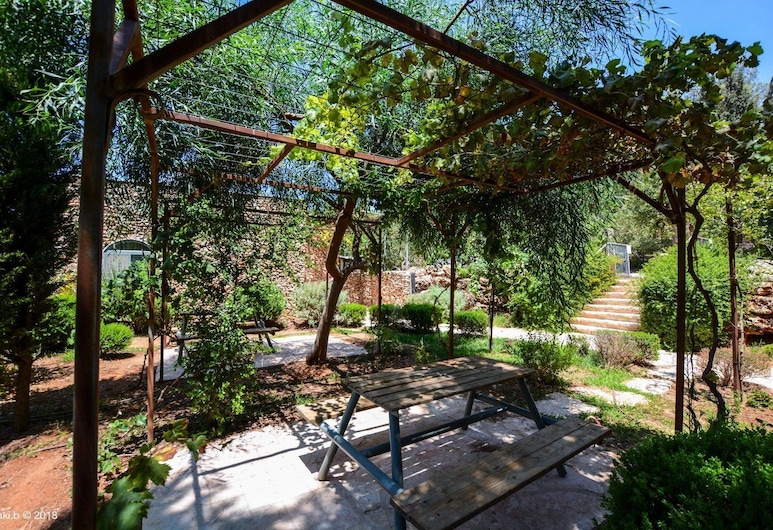 Tur Sinai Organic Farm Resort, Jeruzaleme, Luksusa numurs (Cherry), Terase/iekšējais pagalms