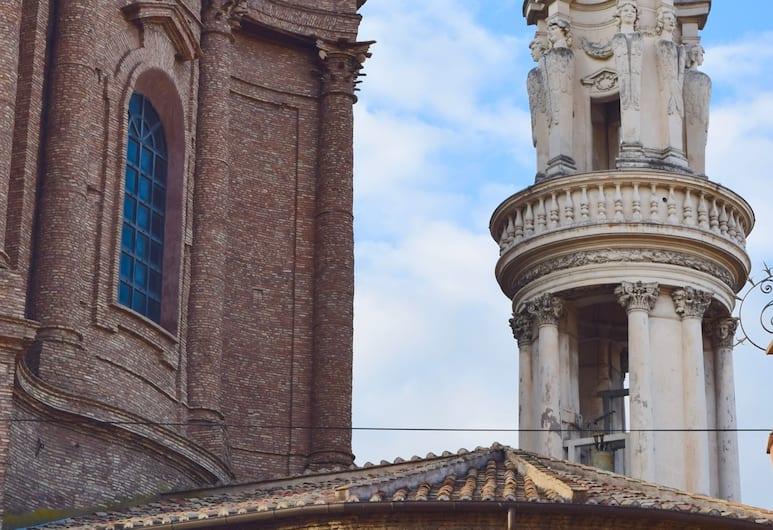 Spagna Ave, Rome, Výhled z hotelu