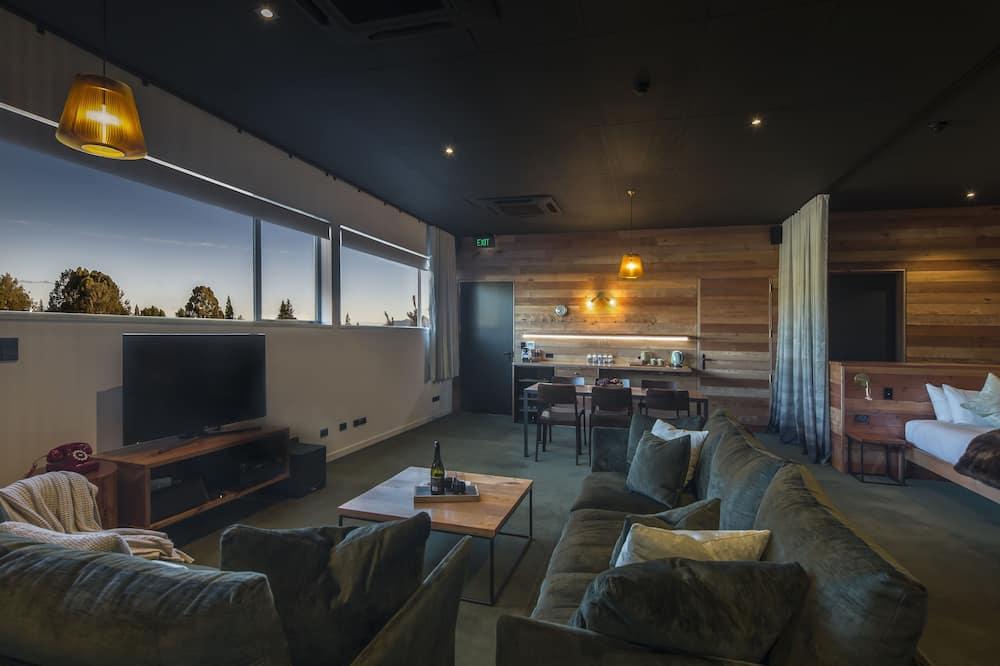 Luxury Studio Suite, 1 Bedroom - Ruang Tamu