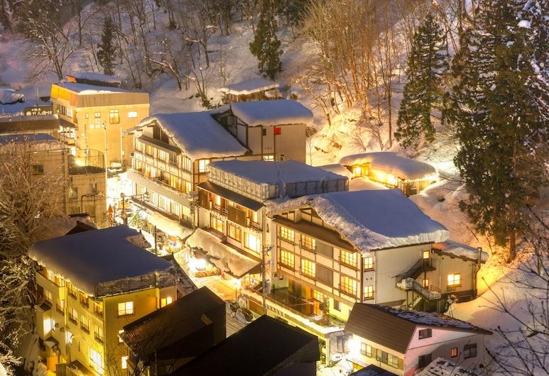 Hinanoyado Chitose, Tokamachi, Aerial View