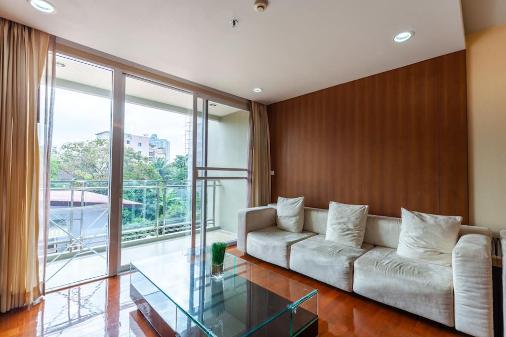 One Bedroom Apartment - Vardagsrum