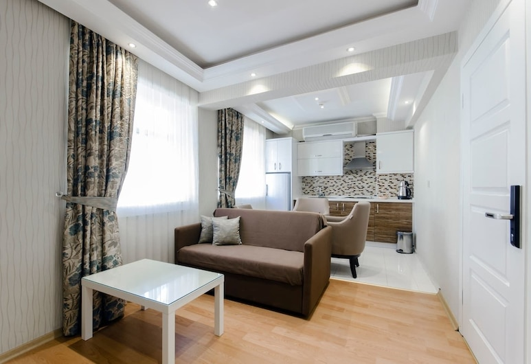 Hotel Apart Alsancak, Izmir, Deluxe Studio Suite, Bathtub, Room