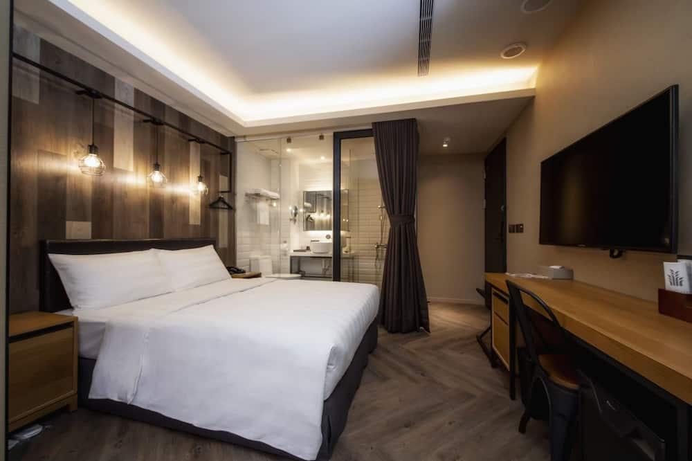Dvivietis kambarys, 1 standartinė dvigulė lova, be langų - Svečių kambarys
