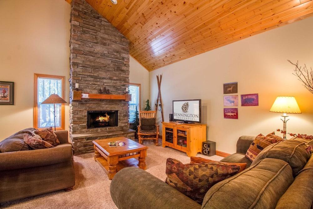 Departamento familiar, 4 habitaciones - Sala de estar