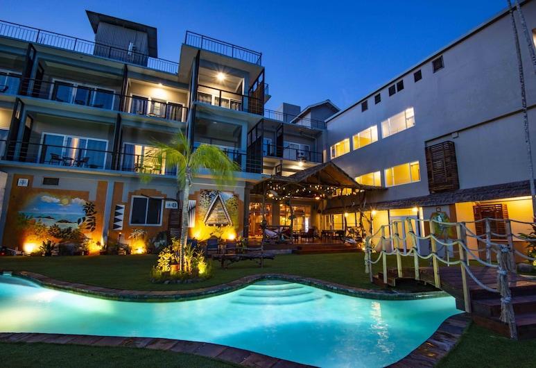 Palau Central Hotel, Koror, Vonkajší bazén