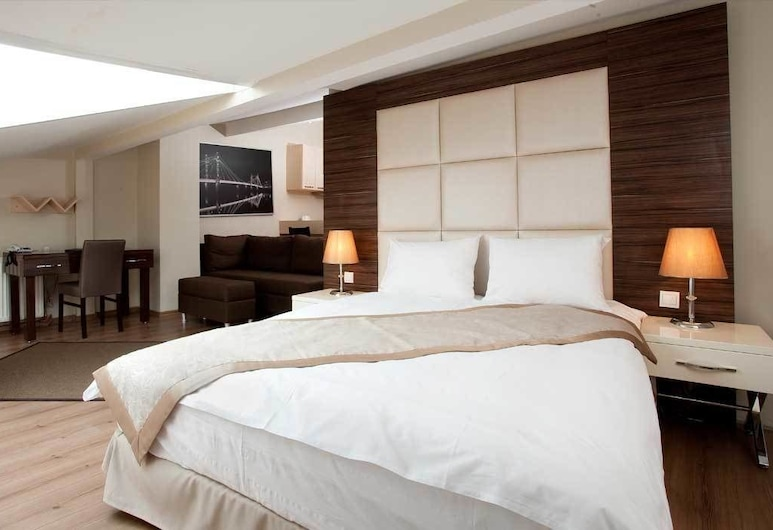 Derpa Suite Hotel Osmanbey, İstanbul, Roof Suite, Kitchen, Oda