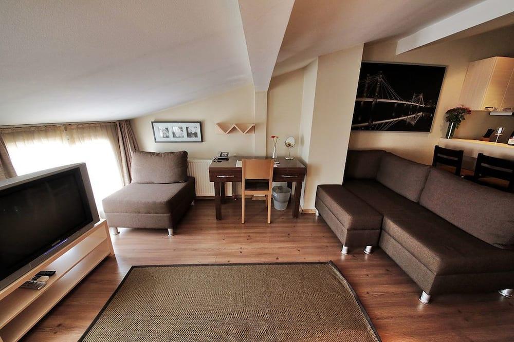 Roof Suite, Kitchen - Dzīvojamā zona