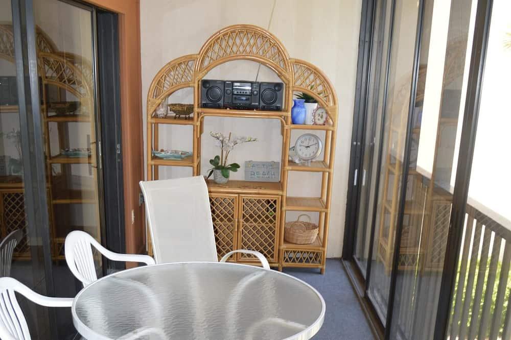 舒適公寓客房, 2 間臥室, 運河景 - 露台