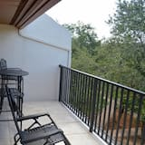 Komforta māja, trīs guļamistabas, skats uz baseinu - Balkons