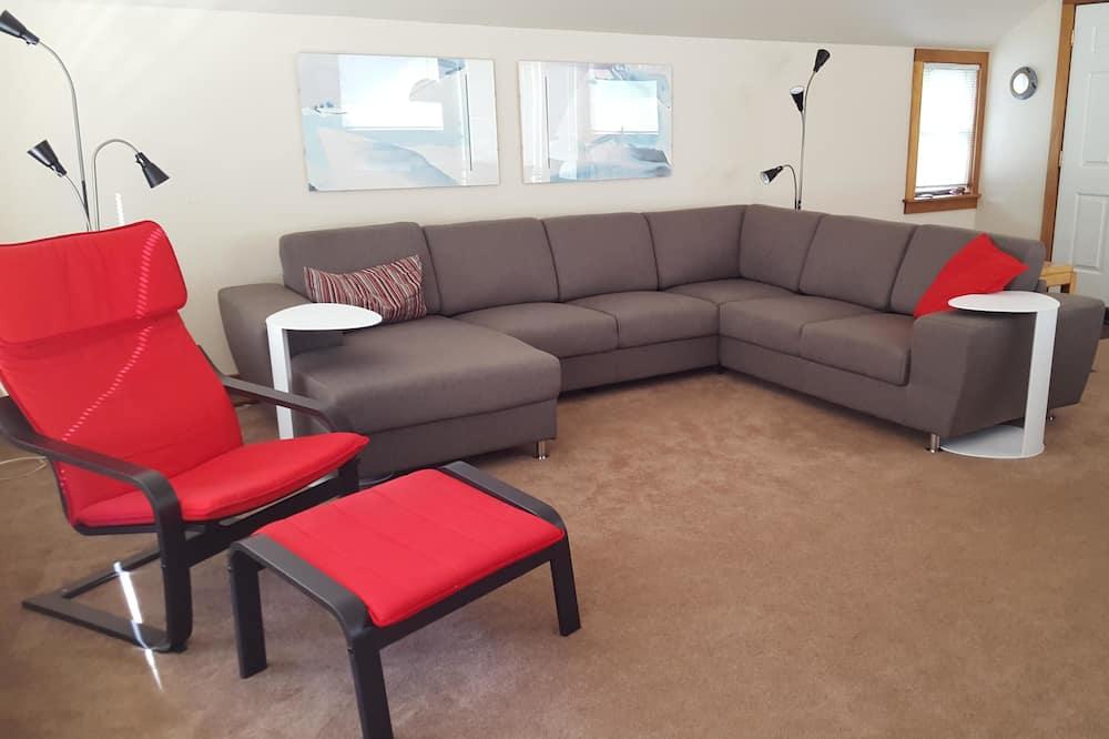 Apartamento Familiar em Condomínio Fechado, 3 Quartos, Junto à Montanha - Área de Estar