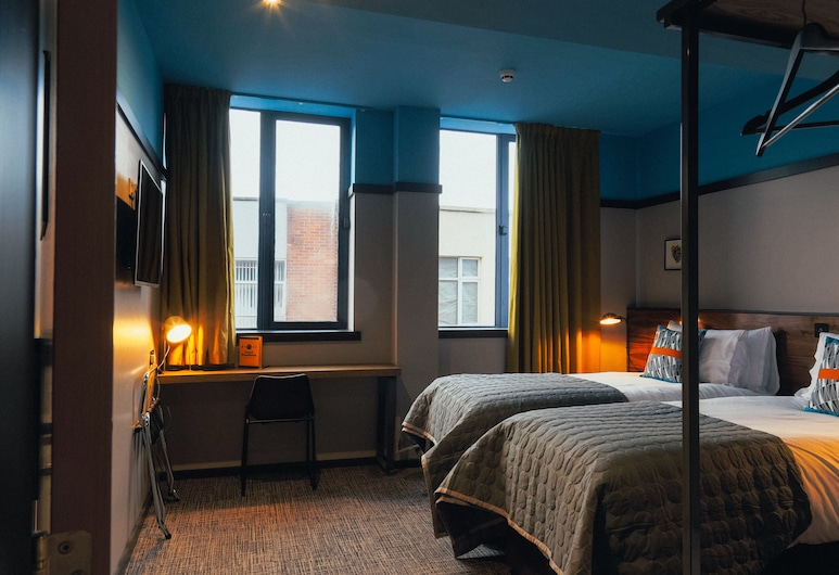 Bullitt Hotel, בלפסט, חדר טווין (Comfy), אזור מגורים