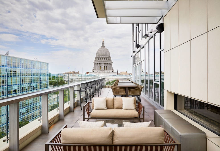 AC Hotel by Marriott Madison Downtown, Madison, Teras/Veranda