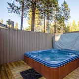 Семейные апартаменты, 3 спальни - Спа-ванна на свежем воздухе