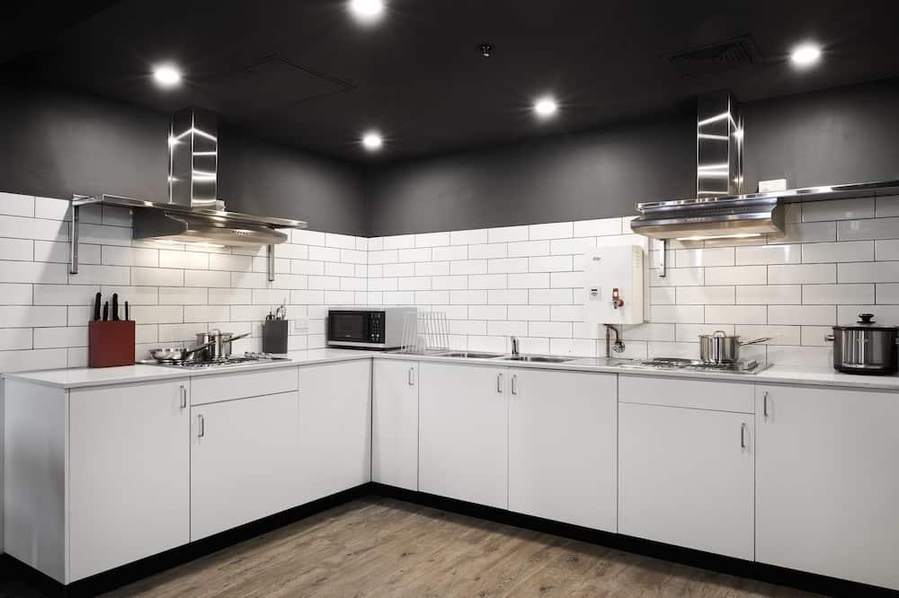 Fyrbäddsrum - delat badrum - Delat kök
