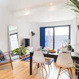 Deluxe appartement, 2 slaapkamers, Balkon - Woonruimte