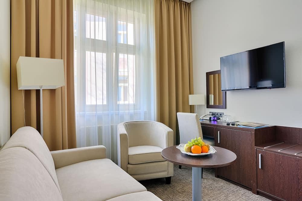 Comfort tweepersoonskamer, 1 slaapkamer, en-suite badkamer - Kamer