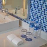 Standardværelse - 1 kingsize-seng - Badeværelse