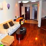 Apartmán, 2 ložnice, výhled na moře - Obývací pokoj