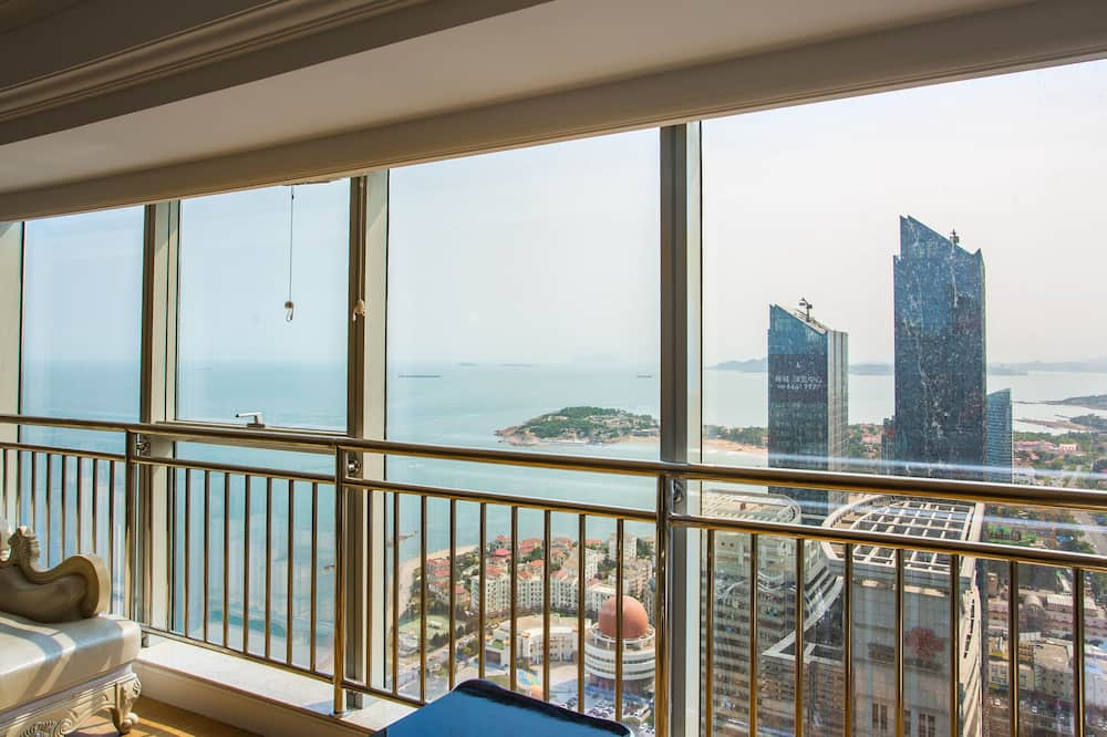Apartmán s panoramatickým výhledem, 4 ložnice, výhled na moře - Pokoj
