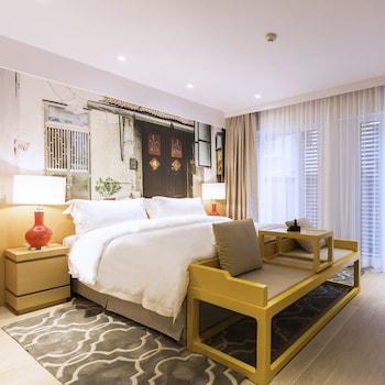 Mynd af Caravel Hotel í Macau