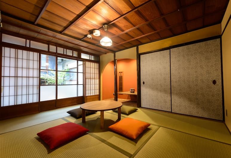 京都屋豆渣青年旅舍, Kyoto, 傳統四人房 (Japanese Style), 客房