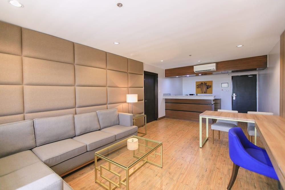 Premier Tower - Presidential Suite - Khu phòng khách