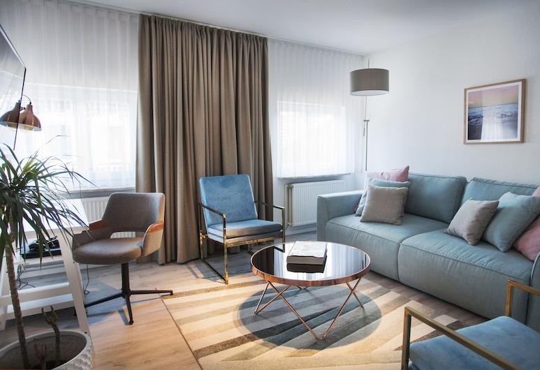 ONNO Hotel by Norman , Rendsburg, Departamento Deluxe, 1 cama King size, Habitación