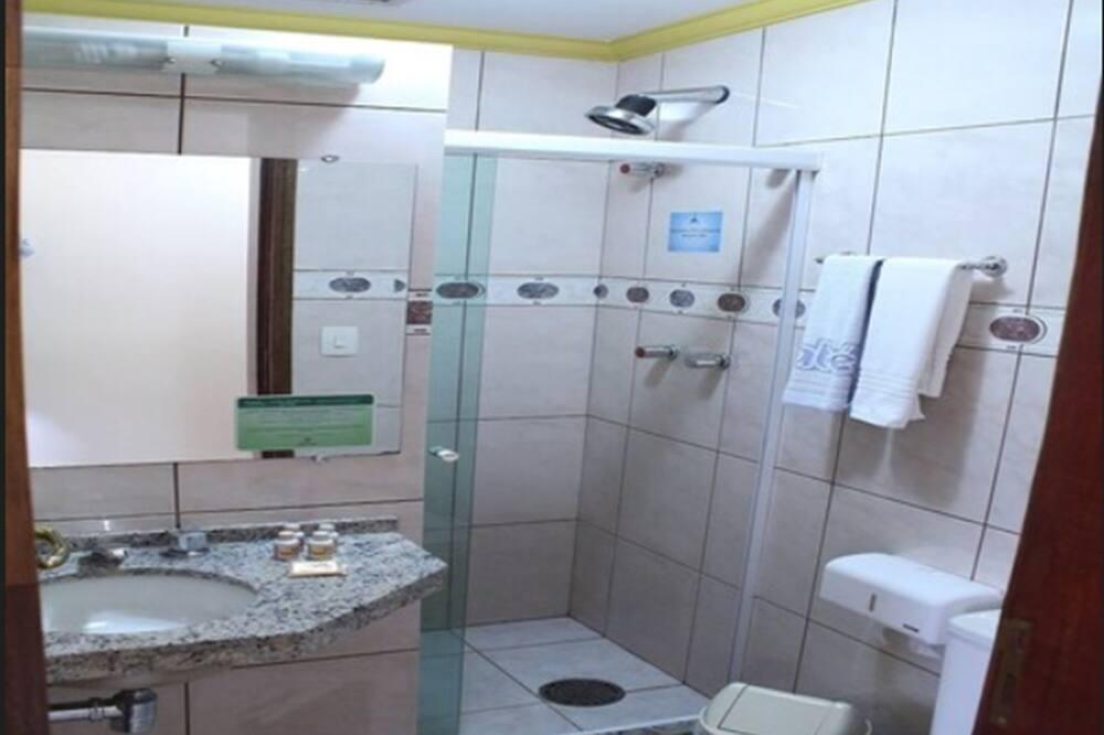 Standard Double Room, Terrace - Bathroom