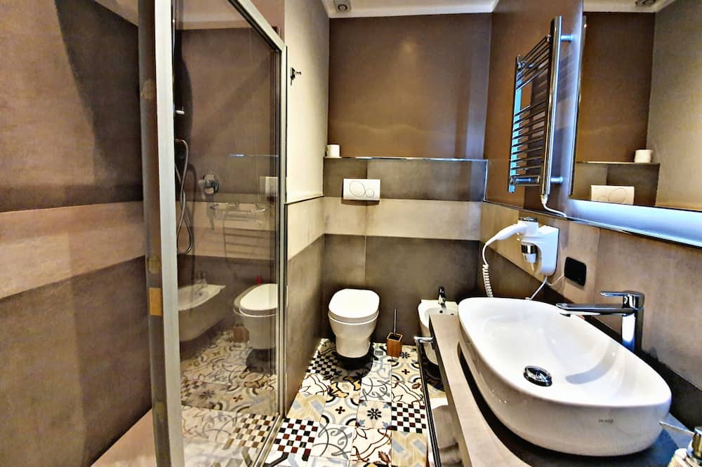 Deluxe Double Room (COLOSSEO) - Bathroom