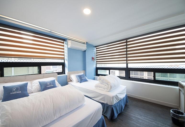 首爾市晴朗旅館, 首爾, 標準三人房, 客房