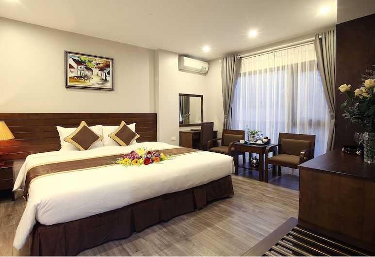 Blue Pearl West Hotel, Hanoi, Deluxe Room, Guest Room