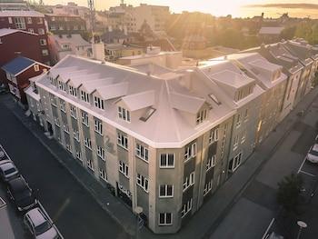 Reykjavik bölgesindeki The Swan House – RÆTUR Apartment Hotel resmi