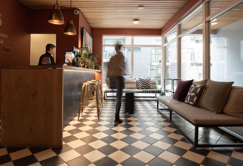 The Swan House Hotel by ylma, Reykjavik, Dinlenme salonu