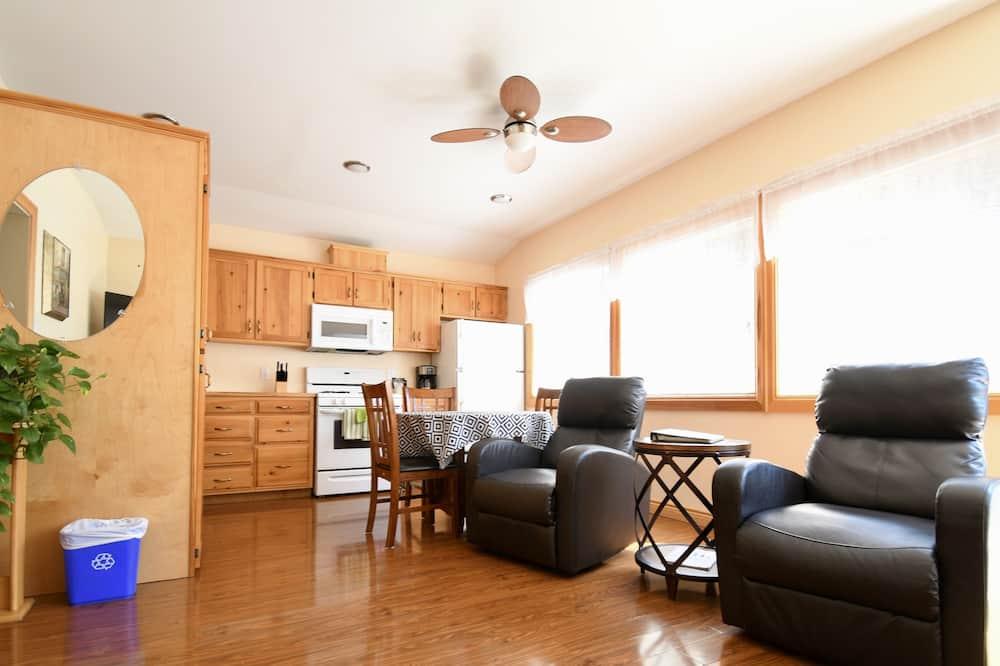 Deluxe-Ferienhaus, 1 Schlafzimmer - Wohnbereich