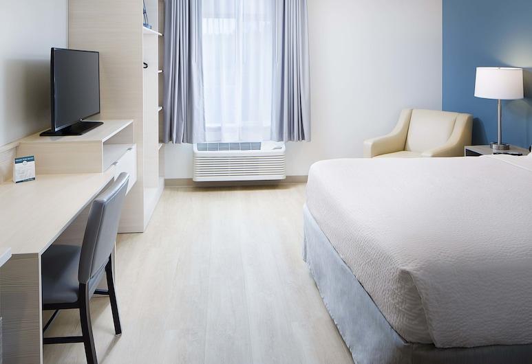 WoodSpring Suites Seattle Everett, Everett, Estudio estándar, 1 cama Queen size, cocina, Habitación