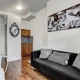شقة إستديو حصرية - سرير مزدوج (#203) - منطقة المعيشة