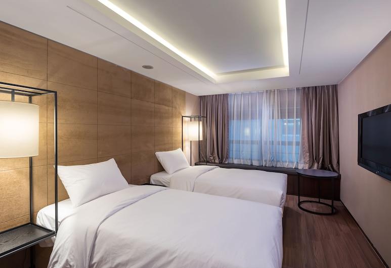 汝矣島設計師酒店, 首爾, 豪華雙床房, 客房