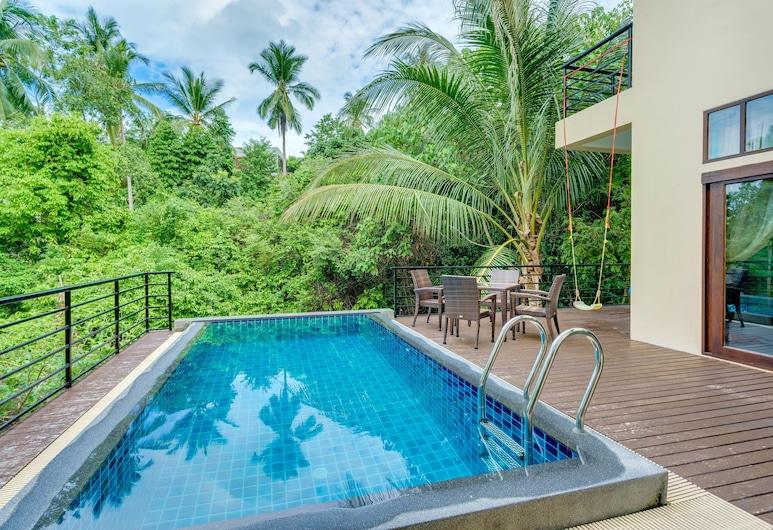 查汶海灘別墅飯店, 蘇梅島, 室外游泳池