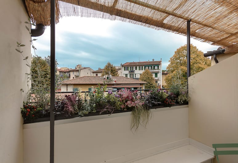 Dolce Vita Suites, Florence, Studio, 1 Tempat Tidur Double atau 2 Tempat Tidur Twin (2nd floor, stair access only), Teras/Patio