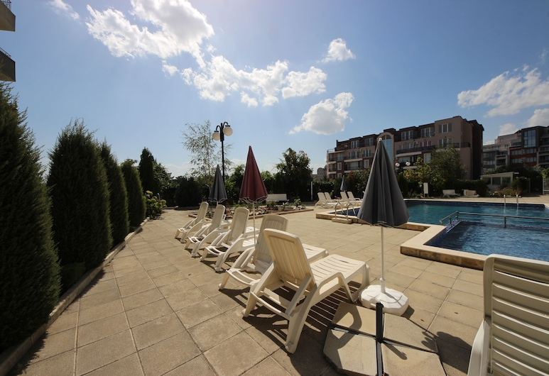 Menada Butterfly Apartments, Sunny Beach, Outdoor Pool