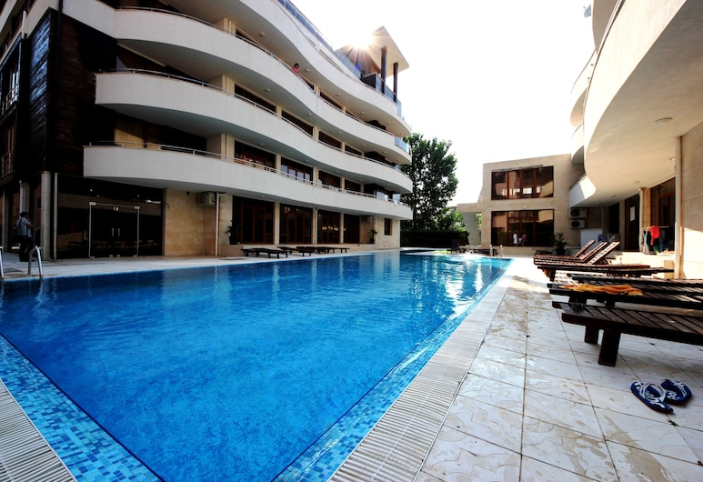 Menada Eden Apartments, Sunny Beach, Pool