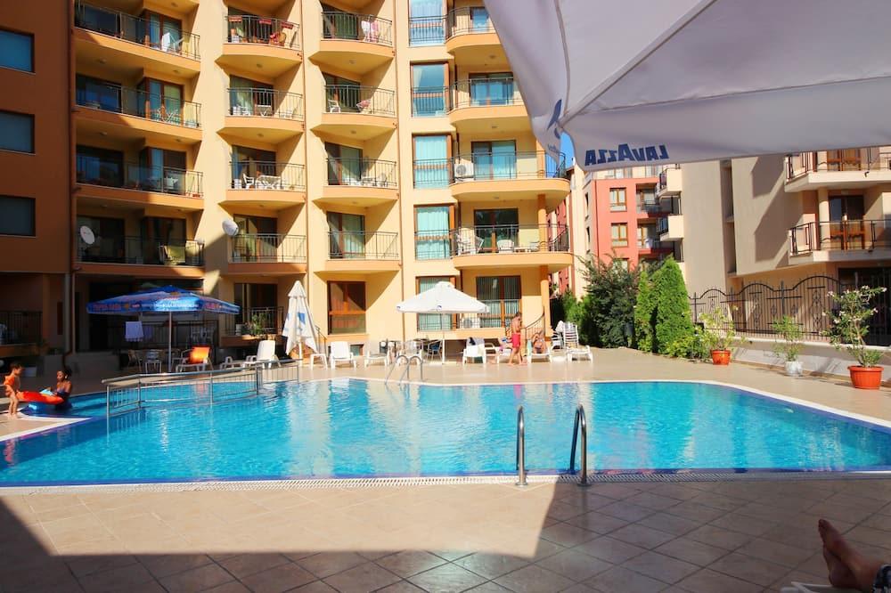 Διαμέρισμα, 1 Υπνοδωμάτιο, Μπαλκόνι, Θέα στην Πισίνα - Εξωτερική πισίνα