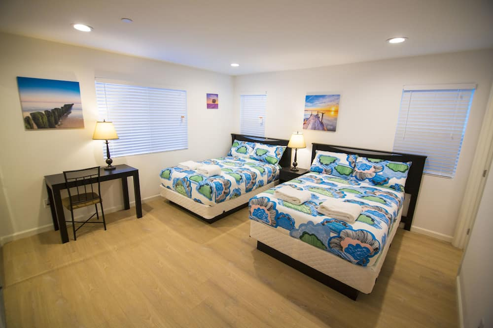 Četverokrevetna soba, 2 bračna kreveta, privatna kupaonica - Izdvojena fotografija