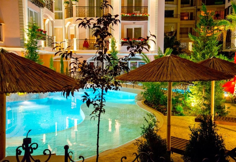 Menada Romance Marine Apartments, Sunny Beach, Pool