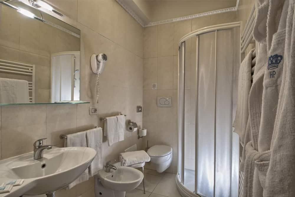 Junior lakosztály, erkély (2 pax) - Fürdőszoba