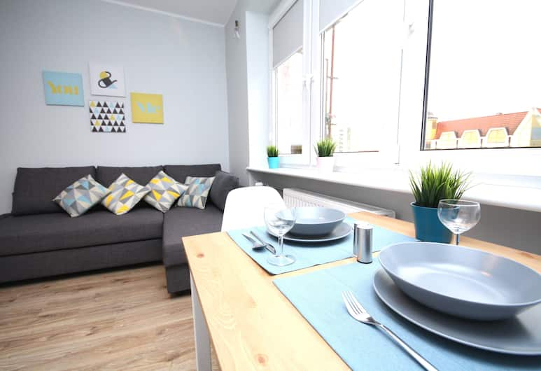Rent a Flat apartments - Długie Ogrody, Gdansk, Studio – city, Oppholdsområde